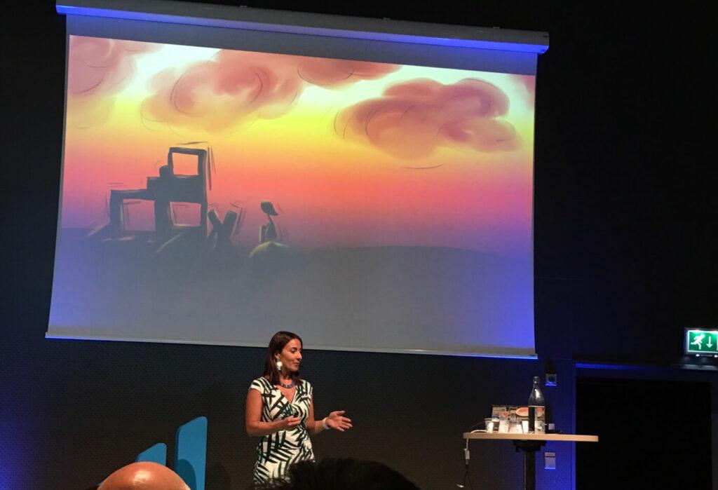 Iris Classon at TechWorld Summit